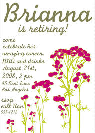 Free Printable Flyer Templates Word Free Printable Retirement Party Invitations Templates Betsy's 67