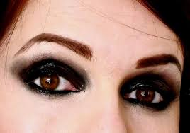 things you will need for gothic eye makeup