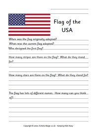 Small Picture United States Flag Colouring Page