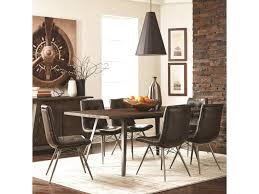 industrial dining room table and chairs. Scott Living FremontDining Table Set Industrial Dining Room And Chairs