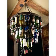 wine bottle chandelier wrought iron wine bottle chandelier wine bottle chandelier kit