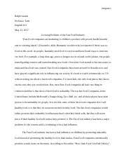summary docx delgado ralph lauren professor tarle english  6 pages essay 3 docx