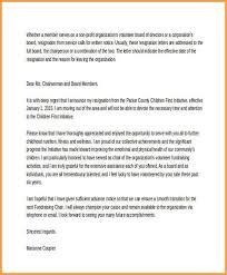 Sample Resignation Letter From Board Member 6 Board Of Director Resignation Letter Sample Types Of Letter
