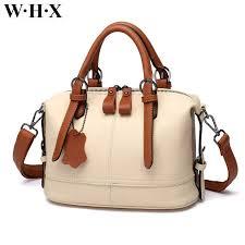 whx beige white leather handbags women tote bags cross bag latest design fashion casual female shoulder messenger bag new pu leather satchel las bags