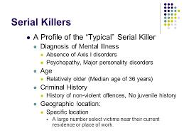 psychological explanations of criminal behaviour ppt video 28 serial killers