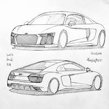 Sketch of lykan hypersport