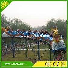 Modern Attraction Park Equipment Chinese Dragon Slide Roller Backyard Roller Coasters For Sale