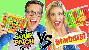 sour patch candy canes. Exellent Candy Ultimate Candy Cane Challenge Sour Patch Vs Starburst Candy Day 340 In Canes A