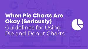 Pie Chart Display When Pie Charts Are Okay Seriously Guidelines For Using