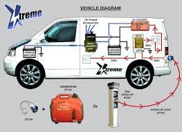 split charging kit bundle offer 1, vw t4 t5 t6 xtremevan camper Single Phase Wiring Diagram at Campervan 240v Wiring Diagram