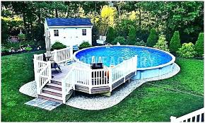 above ground swimming pool ideas. Landscaping Around Above Ground Pool Pictures Removal With Ideas Pictu Swimming