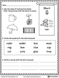 Draw a triangle around the pictures with the long a sound. Pin On Phonics Worksheets Long U And Short Jaimie Bleck