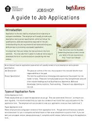 Tips For Completing Application Forms Applications By Bg Futures Careers Employability And Enterprise