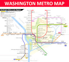 Dc Metro Cost Chart Washington Dc Metro Map Lines Stations Fares Schedule