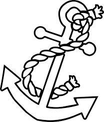 free anchor coloring pages