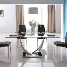 Glass Dining Table Glass Dining Table Suppliers and Manufacturers at  Alibabacom