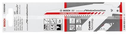 <b>Полотно пильное</b> для демонтажа окон S956DHM (<b>150 мм</b>; 10 шт ...