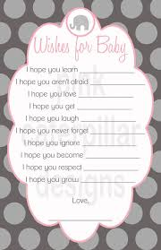 Wishing Well Sayings  Baby Shower IdeasNew Baby Shower Wishes