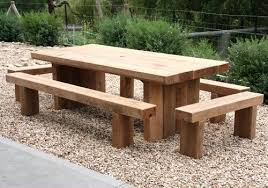 wooden outdoor table plans. Wooden Outdoor Table Tables Garden Dining Sets A Pertaining To Design 7 Timber Plans C