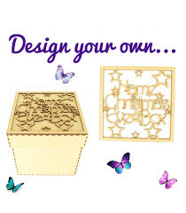 Design Your Own Box Laser Cut Design Your Own Box Frame Top Box Size 1