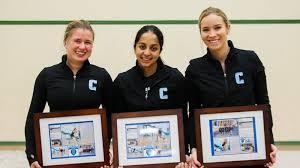 No. 6 Women's Squash Falls to Princeton on Senior NIght - Columbia ...