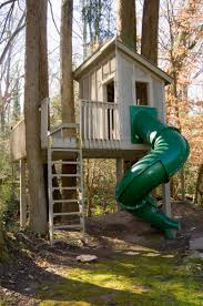 Tree House Architecture Tree House For Kids With Pipe Slide Doctor Architecture Doctor