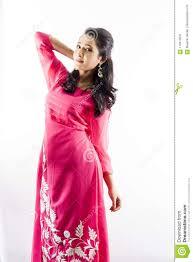 Indian Traditional Salwar Kameez Designs Beautiful Female Model In Indian Kurti Stock Image Image