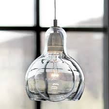 meigar vintage industrial lighting shade pendant lamp shade handblown glass drop ceiling lights lampshade clear glass shade com