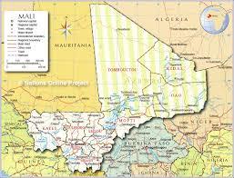 تحتل مالي المرتبة الثامنة على دول إفريقيا من حيث مساحتها التي تصل إلى مليون ومائتين وأربعين كيلو متراً مربعاً، ويعيش عليها أكثر من أربعة عشر مليوناً ونصف المليون نسمة، وتعدّ مدينة باماكو عاصمةً للبلاد، وتنقسم. Political Map Of Mali Nations Online Project