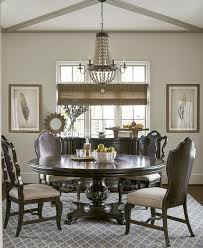 chandelier for round dining room table awesome a r t continental vintage melange 72 round dining table