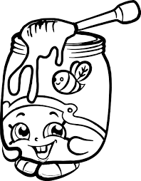 Shopkins Season Coloring Pages At Getdrawingscom Free For