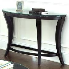 half circle accent table half moon accent table furniture half moon console table range melody in half circle accent table
