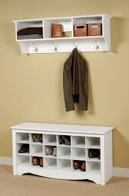 Shoe Rack With Bench And Coat Rack Entryway Shoe Bench With Coat Rack Home Design Ideas 61