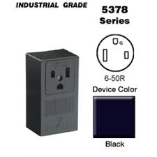 leviton 5378 50 amp surface mount receptacle 250v 6 50r 2p4w leviton 5378 50 amp surface mount receptacle 250v 6 50r 2p4w