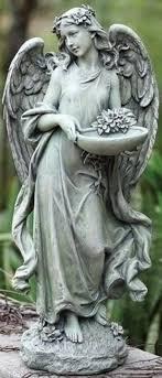 outdoor garden statues. Pack Of 2 Joseph\u0027s Studio Angel Bird Feeder / Bath Outdoor Garden Statues 15.75\ G