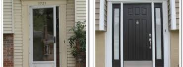 front door with sidelitesEntry Door  Sidelites  Fairfax VA  Consumer Construction Inc