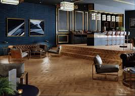 Bar Golden Chevron Parquet 4111 Specifier