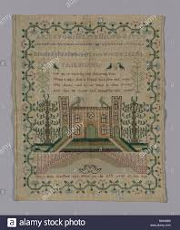 Sampler - 19th century - Mary Holt England or United States - Artist: Mary  Holt, Origin: England, Date: 1801-1900, Dimensions: 33.7 × 42 cm (13 1/4 ×  Stock Photo - Alamy