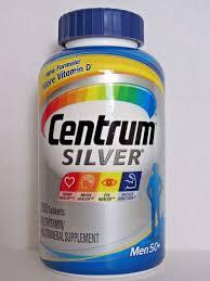 centrum silver multivitamin multimineral supplement for men 50 250 tablets