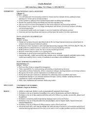 Statistician Resume Example Data Statistician Resume Samples Velvet Jobs 5