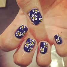 Blue And Black Nail Designs The Home Design : Blue Nail Designs To ...
