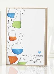 Chemistry Cover Page Designs Great Chemistry Card By Cecilia Hsieh Paper Crafts