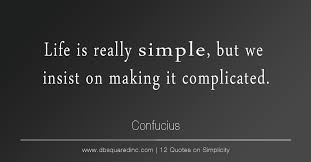 Beauty Lies Simplicity Quotes