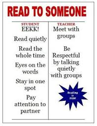 Daily 5 Read To Someone Poster Chart Read To Self Daily 5
