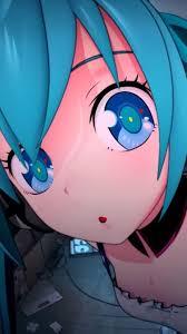 Big Eyes Cute Anime Girl IPhone Wallpaper
