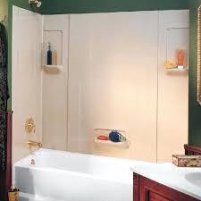 breathtaking swanstone shower walls everyday essentials tub wall kit tub shower wall kit bone at swanstone