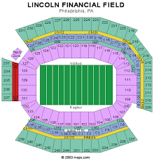 Philadelphia Eagles Seating Chart Philadelphia Eagles