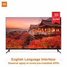 Xiaomi TV 4 55 Inch 4K Thông Minh Siêu Mỏng TIVI TREO TƯỜNG Và Máy Tính Để  Bàn Siêu Hẹp Khung Kim Loại 2GB 8GB TV Thông Minh|Smart TV