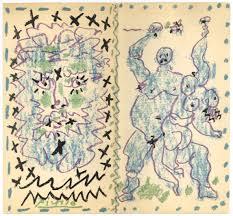 Picasso Original Lithograph Couverture Pour Dessins D Un Demi Siecle