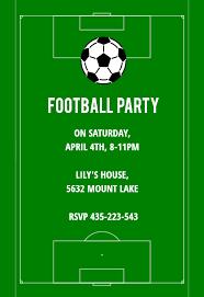 Free Football Invitation Templates Soccer Night Sports Games Invitation Template Free